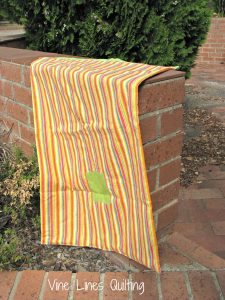 Vine Lines Quilting - Laundry Bag for Aussie Hero Quilts