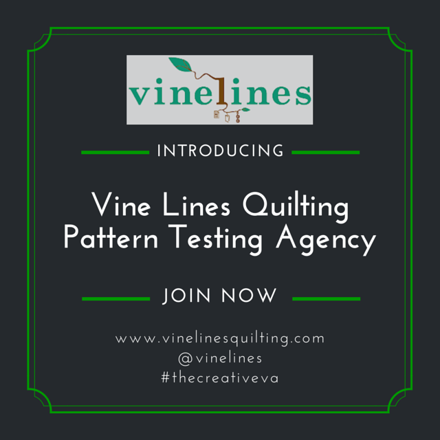 Introducing Vine Lines Quilting Pattern Testing Agency