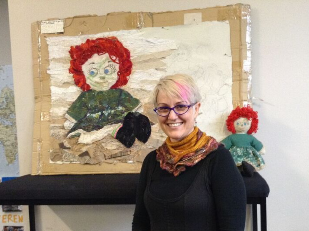 Raggedy Ann Quilt by Monica Raven. Image Copyright Monica Raven and used with permission.