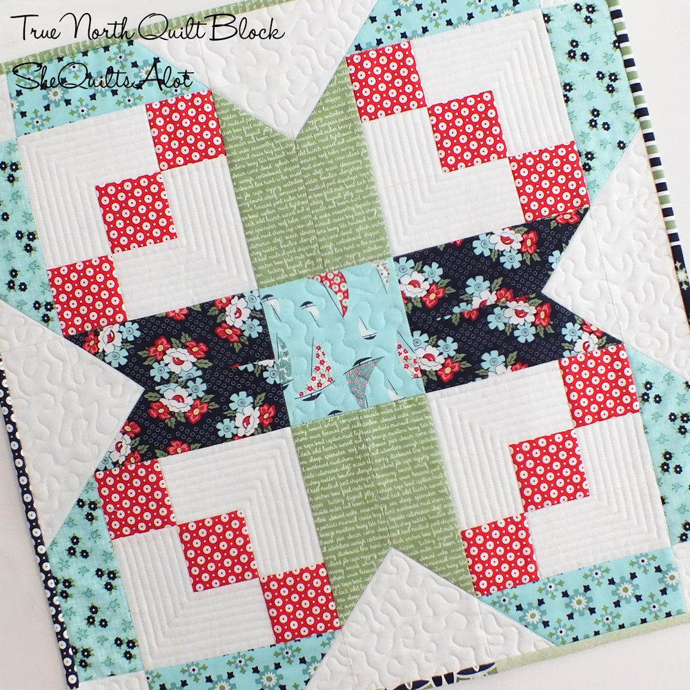 True North - Designed by She Quilts A Lot