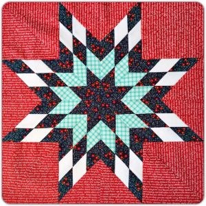 Nantucket Block by Corinna Burrows. Pattern by Camille Roskelley of Thimbleblossoms.