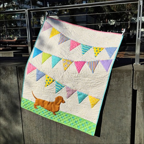 Ellie's Quilt - Pieced and Quilted by Di Jobbins