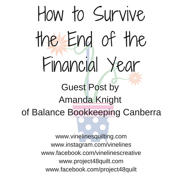 How to Survive the End of the Financial Year