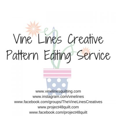 Vine Lines Pattern Editing Service