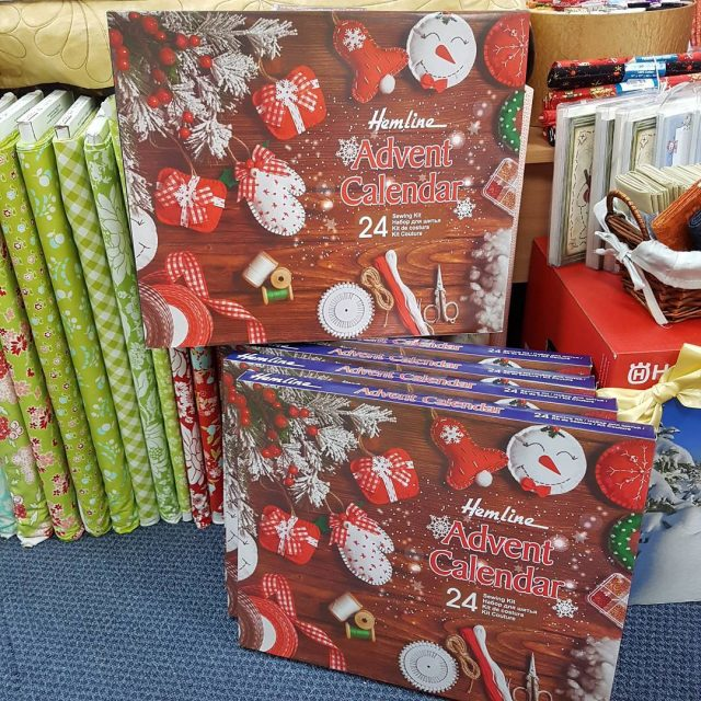 Or what about a sewing themed AdventCalendar? New in storehellip